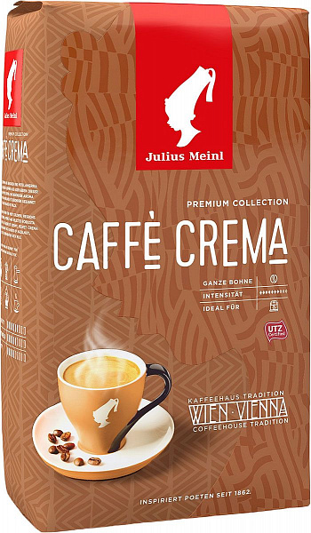 Кофе в зернах Julius Meinl Premium Collection Caffe Crema 1 кг фото в онлайн-магазине Kofe-Da.ru