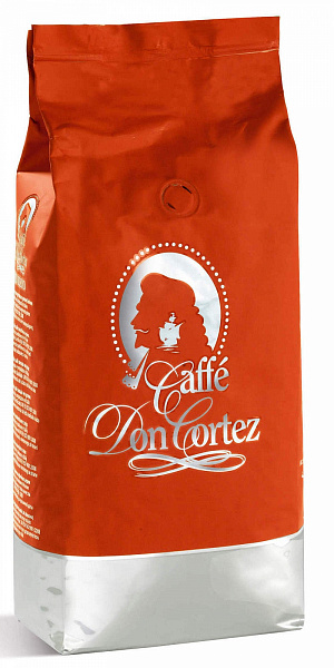 Кофе в зернах Carraro caffe Don Cortez Red, 1кг фото в онлайн-магазине Kofe-Da.ru